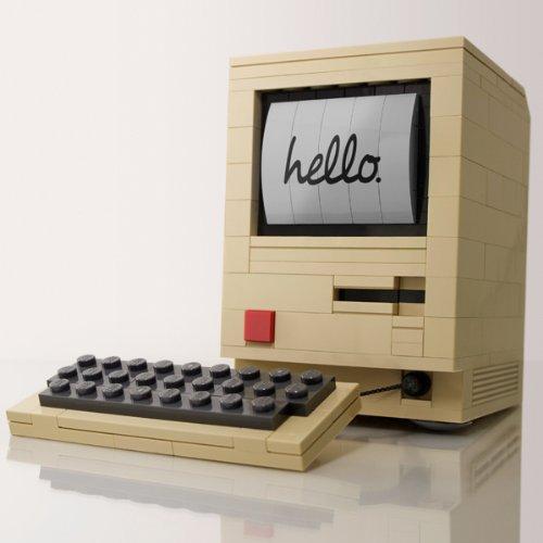 LEGO Apple Macintosh 128K Byte Edition