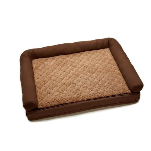 2 'N 1 Comfort Lounge Dog and Cat Bed Color: