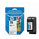 1 Original Printer Ink Cartridge for HP PSC 750XI - Tri-Colour