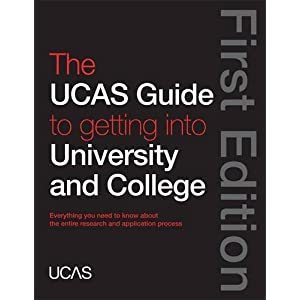 Image: Cover of The UCAS Guide to Getting into University and College