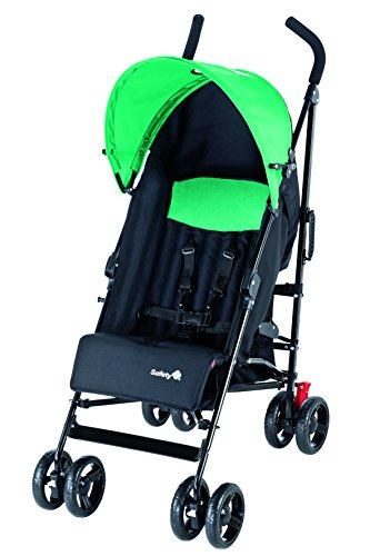 Safety 1st 11329420 Slim Passeggino, Nero/Verde