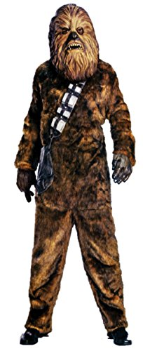 Rubies Mens Deluxe Chewy Chewbacca Star Wars Furry Theme Party Costume
