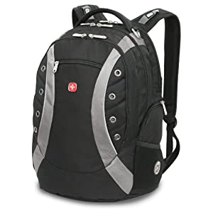SwissGear Laptop Backpack with Sunglasses Holder and Audio Interface ($49.99)