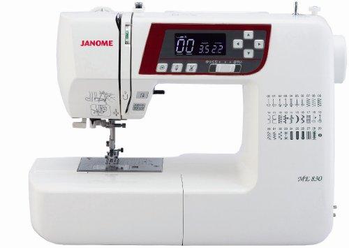 JANOME コンピュータミシン <プログラム自動糸切り機能付> ME830