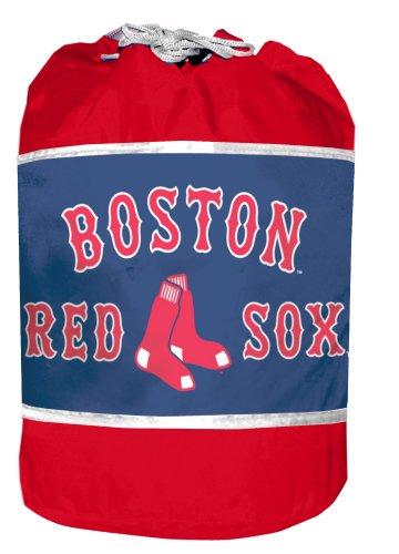 Mlb Red Sox Slumber Duffle Bag, Blue front-1027616