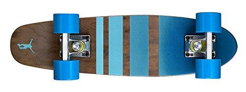 Ridge Skateboards Maple Mini Cruiser- NR3 Skateboard, Blu
