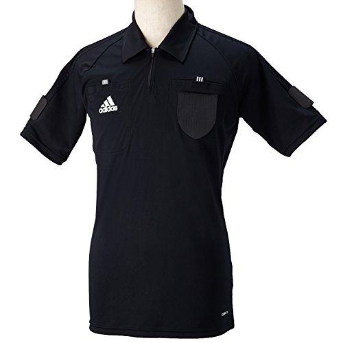 adidas (adidas) [DJ134] referee basic Jersey S/S soccer referee shirt X47557 black XO