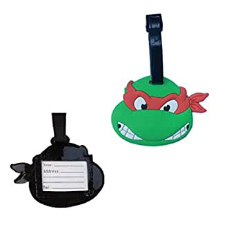 Teenage Mutant Ninja Turtle Luggage Tag
