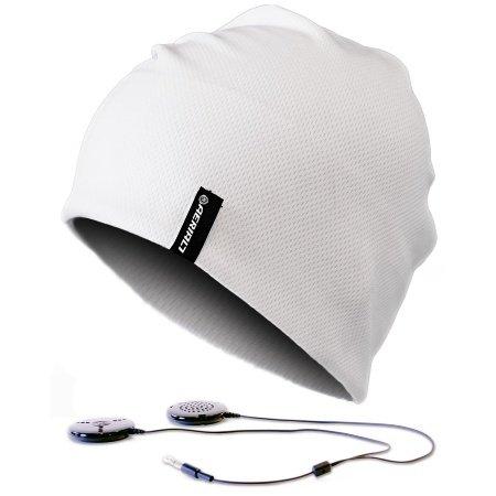Aerial7 Sound Disk Sports Beanie - White