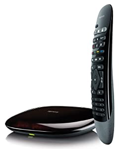 Logitech 915-000194 Harmony Smart Control with Smartphone App and Simple Remote - Black