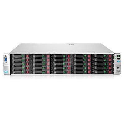 HP ProLiant DL380e Gen8 E5-2420 1P 12GB-R P420 Hot Plug 25 SFF 750W PS Server; 1.90GHz; Intel Xeon E5-2420 (6 core; 1.9 GHz; 15MB; 95W); 15 L3; SFF SAS/SATA/SSD; None ship standard; 12GB; PC3-12800R (RDIMMS) (668668-421)
