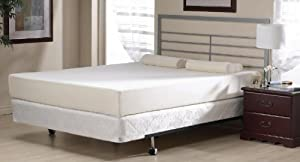 Viceroybedding New 3ft Single 8  inch (200mm / 20cm) High Quality Memory Foam Mattress ***Now Includes Quilted Zip Off Removeable And Machine Washable Anti Bacterial Cover***       Customer reviews and more information