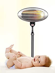reer, Radiant Heater with base by Reer
