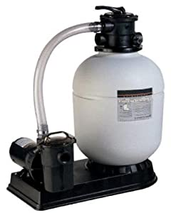 16 Inch Arthur's Pools Sand Filter System Pump and Motor