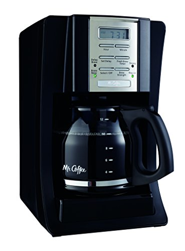 Mr. Coffee SJX23 12-Cup Programmable Coffeemaker Black Review Best coffeemakers