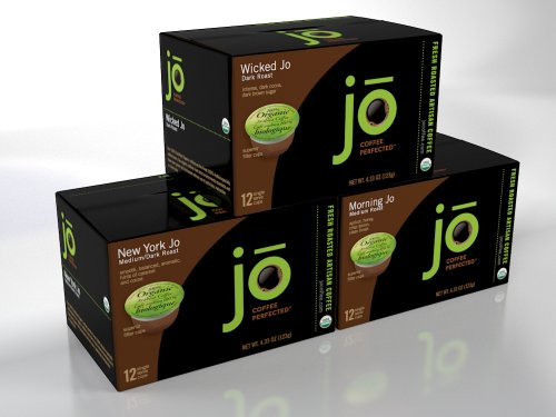 SINGLECUP JO VARIETY PACK: 36 Single Serve Cups,