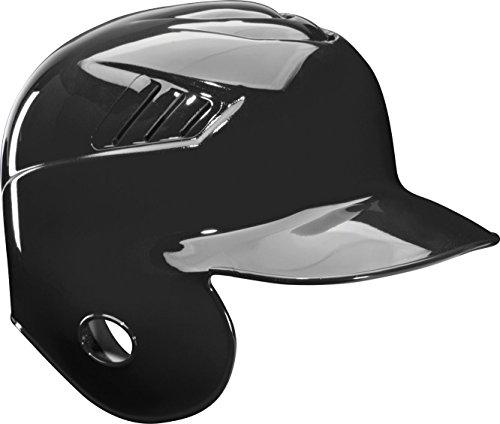 Rawlings Coolflo Single Flap Batting Helmet for Left Handed Batter, Black, Large