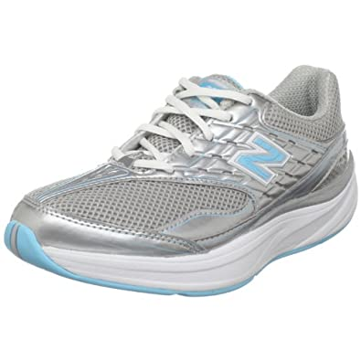 New Balance Women's WW1870 Toning Shoe,Silver/Blue,6 B US