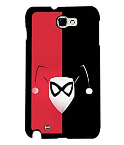 printtech Clown Girl Back Case Cover for Samsung Galaxy Note 2::Samsung Galaxy Note 2 N7100