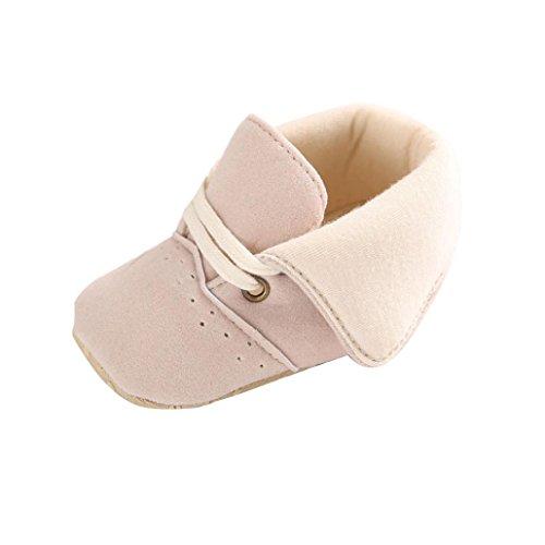 Scarpine Neonata,Xinantime Scarpe infantili Molli Sole Baby Girl Boy Prewalker (12)