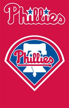 MLB Philadelphia Phillies Applique Banner Flag at Amazon.com
