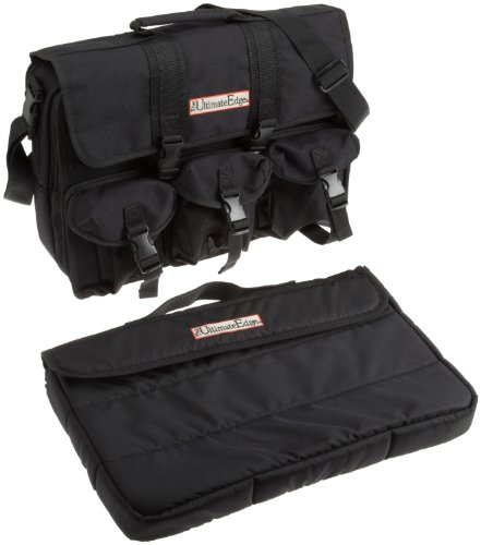 The Ultimate Edge 2001-COMP Computer Bag, Black