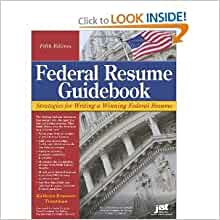 Federal Resume Guidebook 5th Fifth Edition byTroutman