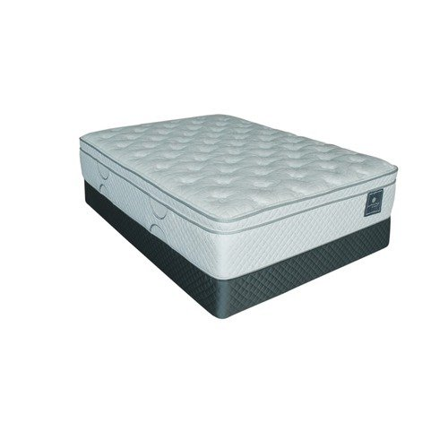 Serta Perfect Day Moonscape Mega Euro Top Mattress Set