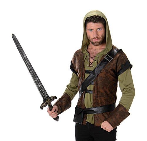 Men's Robin Hood - Halloween Costume (M) (Colonial Rebel Costume)