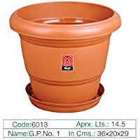 Milan Green Planter - 01 14.5 Ltr