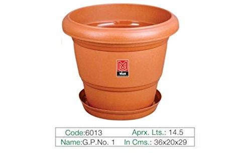 Milan Green Planter - 01 14.5 Ltr