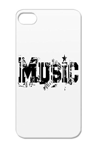Rugged Black Music Dance Metal Rock`Nroll Headphones Sound Disco Jazz Pop Dance Electronica Dj Music R&Amp;B Country Party Birthday Sounds Classic Hiphop Rock And Roll Rock Records Fun Urban Headphone For Iphone 4 Case Cover