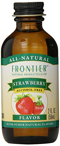 Frontier Natural Products Strawberry Flavor A/F, 2-Ounce front-172997