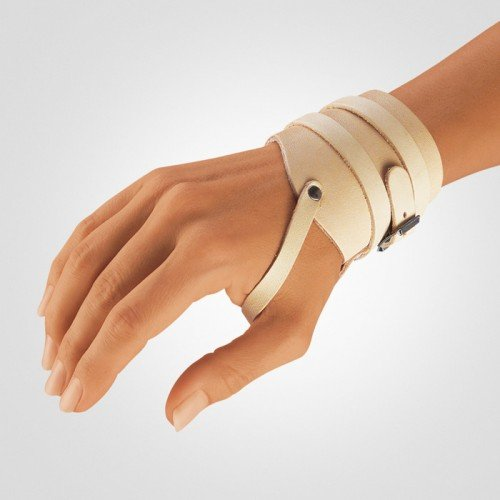 Bort Leather Wrist Brace Support Strap-S-Right front-579447