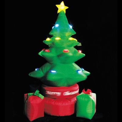 Lb International Inflatable Rotating Tree With Gift Boxes front-535474