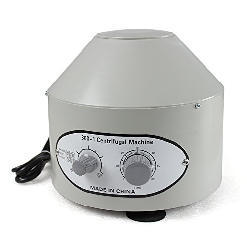 Zeny Desktop Electric Centrifuge Lab (Timer 0-60min) 0-4000 Rpm Cap:20ml X 6 Tube (800-1) 110v (Industrial Centrifuge compare prices)
