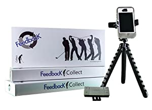 FeedbacK: Collect Bundle (Golf Training Solution - Voice-controlled, hands-free way to use your smartphone and easily record your golf swing at the driving range)