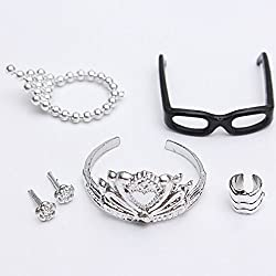 Generic 5pcs/Set Fashion Jewelry Accs for Doll Dolls