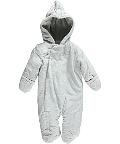 "Absorba Baby Boys' ""A+ Warmth"" Pram Suit - Gray, 6 - 9 Months front-1019962"