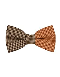 Tiekart Brown Impression Men Bow Ties