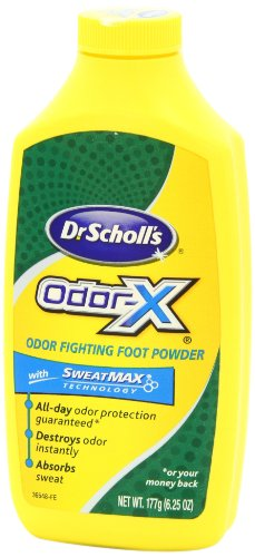 Dr. Scholl's OdorX All Day Deod Powder. 6.25 Ounces, (Pack of 3) значок balzer pin zander