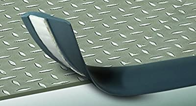 Cal-Flor GM66503 ToughTrim Heavy Duty Self Adhesive Vinyl Molding Trim Kit, Pewter/Gray by Cal-Flor