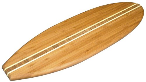 Totally Bamboo Surfboard Cutting Board
