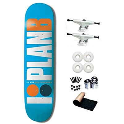 Plan B OG Team Light Blue 7.75 Skateboard Deck Complete