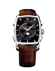 Louis Erard Men's 44211AA02.BDCL50 1931 Automatic Brown Genuine Leather Date Watch