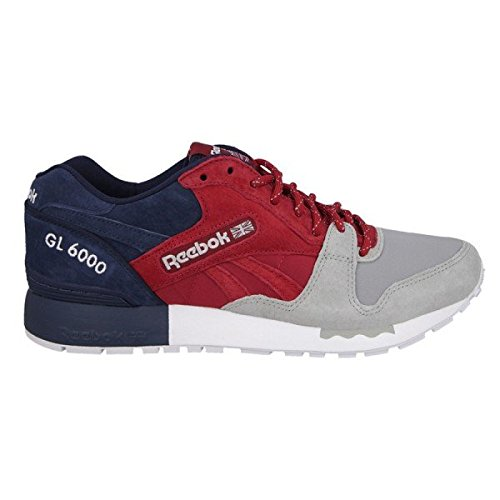 Reebok GL 6000 SNE Summer New England Pack, cranberry red/tin grey/collegiate navy/white, 7,5
