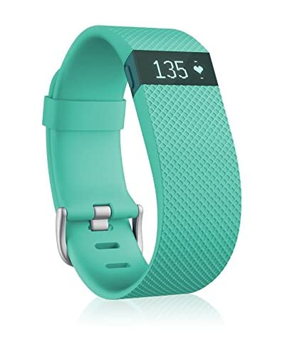 Fitbit Pulsera de Fitness Charge Hr Large Verde Agua