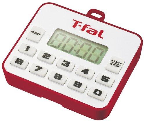 T-FAL kitchen timer Petit Ruby Red K03001