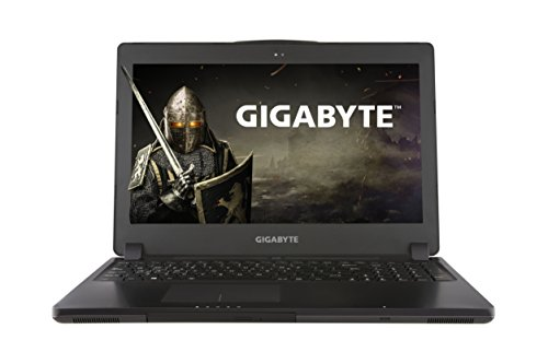 Gigabyte p35x v6 cf1 156 inch gaming notebook black intel i7 6700hq 16 gb ram 1 tb hdd nvidia geforce gtx 1070 graphics card windows 10