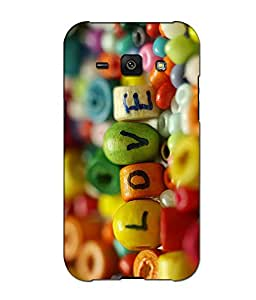 Crazymonk Premium Digital Printed 3D Back Cover For Samsung Galaxy J1